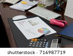 business finance  accounting ... | Shutterstock . vector #716987719