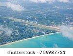 aerial photo of the phuket... | Shutterstock . vector #716987731