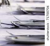 cutlery on a table   Shutterstock . vector #71700706