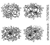 flower set | Shutterstock . vector #717007801