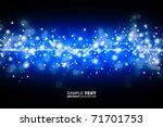 blue shine background | Shutterstock . vector #71701753