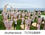 wedding setup | Shutterstock . vector #717018889