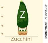 illustrator of balloon z... | Shutterstock .eps vector #717046219