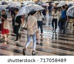tokyo  japan   september 16th ... | Shutterstock . vector #717058489
