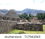 old village in the andes  peru | Shutterstock . vector #717062065