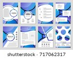 abstract vector layout... | Shutterstock .eps vector #717062317