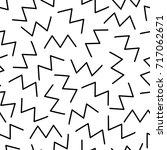 zigzag. retro background.... | Shutterstock .eps vector #717062671