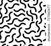 abstract memphis texture.... | Shutterstock .eps vector #717062677