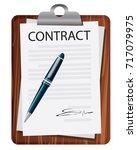 vector illustration. business... | Shutterstock .eps vector #717079975