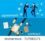 vector illustration. business... | Shutterstock .eps vector #717082171