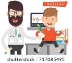 doctor concept design vector   Shutterstock .eps vector #717085495