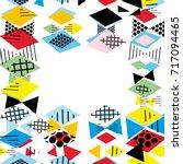 card banner template frame for... | Shutterstock .eps vector #717094465
