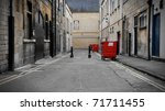 Inner City Dark Alleyway...