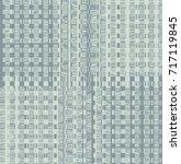 modern square pattern | Shutterstock . vector #717119845