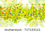 abstract tech background with... | Shutterstock . vector #717153121