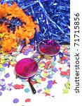 Round Framed Glasses With...