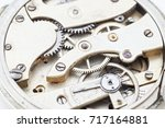 details of watches and... | Shutterstock . vector #717164881