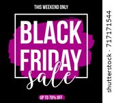 abstract black friday sale...   Shutterstock .eps vector #717171544
