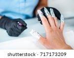 soak off gel   Shutterstock . vector #717173209