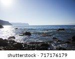 nature ocean fantastic... | Shutterstock . vector #717176179
