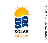 solar energy symbol vector   Shutterstock .eps vector #717200251