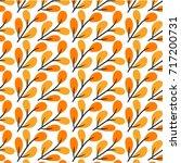 leaf pattern design   Shutterstock .eps vector #717200731