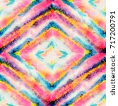 Seamless Tie Dye Pattern Of...