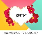 wonderful background with...   Shutterstock .eps vector #717205807