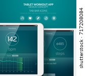 workout mobile application...