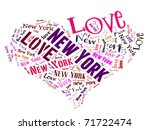 Love Heart Of  New York