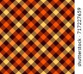 tartan seamless pattern... | Shutterstock .eps vector #717227659