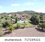 villa aerial view | Shutterstock . vector #717239221