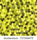 pentagon pattern. seamless... | Shutterstock .eps vector #717246475