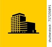 buildings icons vector   Shutterstock .eps vector #717250891