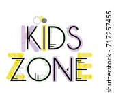 Kids Zone. Cute Colorful...