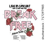 break free rock music type...