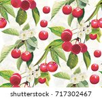 fruits patterns seamless vectors | Shutterstock .eps vector #717302467