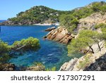 calanques in the south of france | Shutterstock . vector #717307291