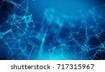 concept of network  internet... | Shutterstock . vector #717315967