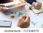 business concepts businessman... | Shutterstock . vector #717338575