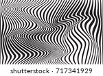 optical art abstract background ... | Shutterstock .eps vector #717341929