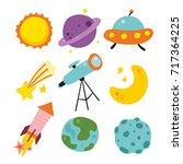 space vector design   Shutterstock .eps vector #717364225