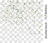 abstract background with many... | Shutterstock .eps vector #717369661