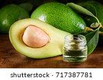 closeup view of fresh green...   Shutterstock . vector #717387781