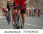 cycling competition cyclist...   Shutterstock . vector #717419521