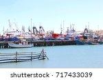 luderitz  namibia  africa  ... | Shutterstock . vector #717433039