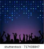 Night Club Light Led Party Blue