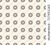 seamless pattern with gemstones ... | Shutterstock . vector #717451165
