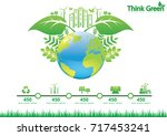 ecology connection  concept... | Shutterstock .eps vector #717453241