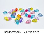 Colored Beads For Design On A...